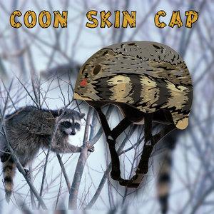 coon skin cap