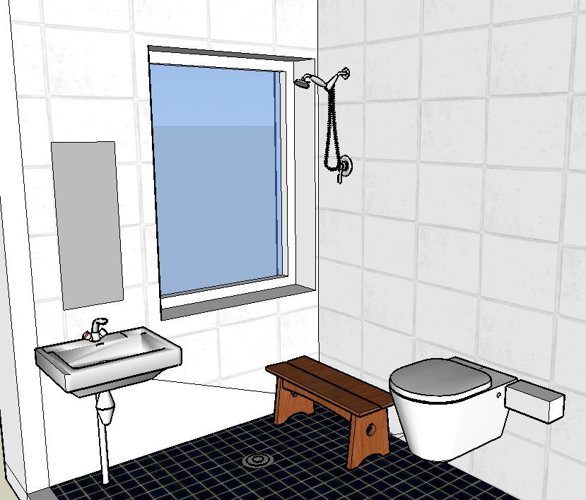 Tinybath Bigger · Typical Japanese Bathroom Bigger