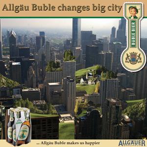 Little boy changes big city