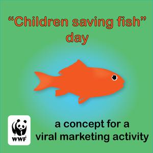 """""""Children saving fish"""" day"""