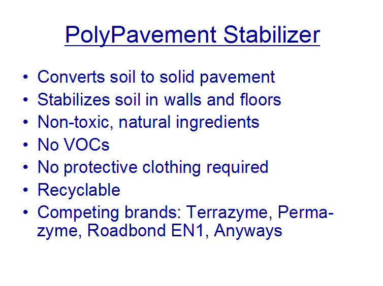 Polypavement stabilizer bigger