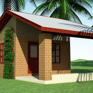 $300 Geopolymer CEB House