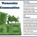 Vernacular Communities