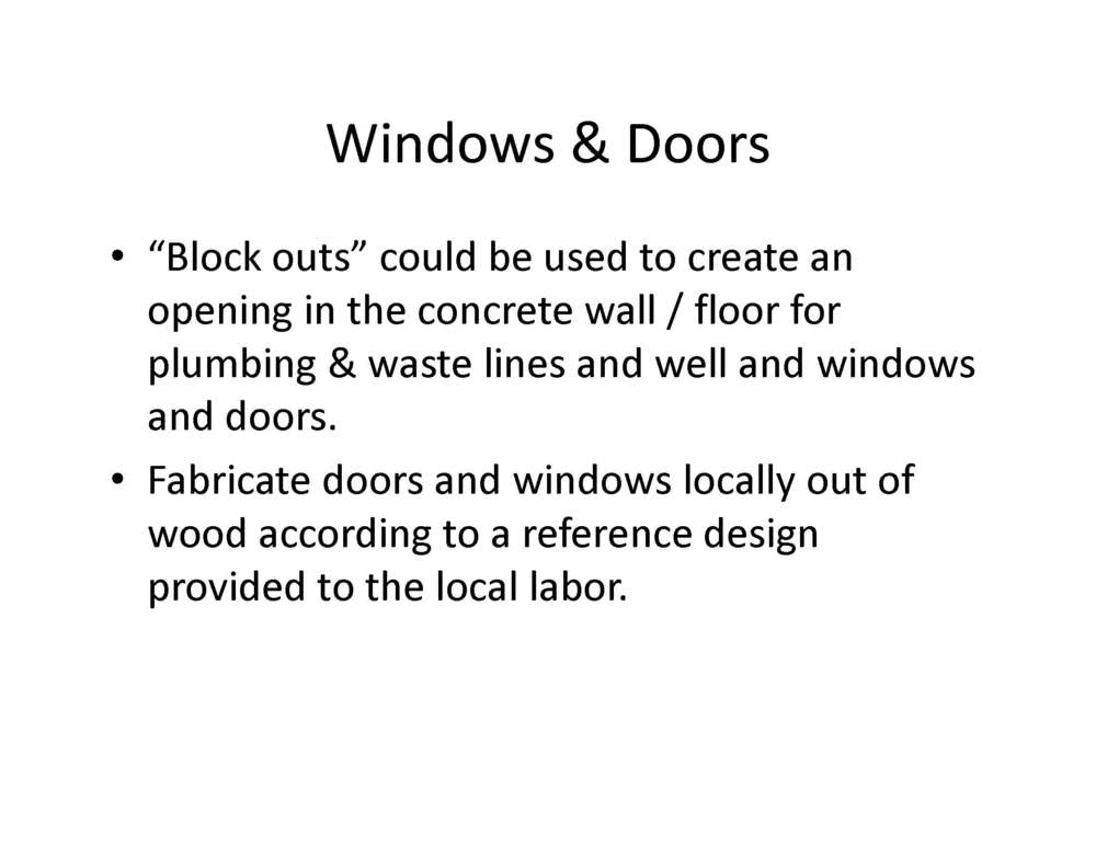 Method for casting concrete homes page 09 bigger