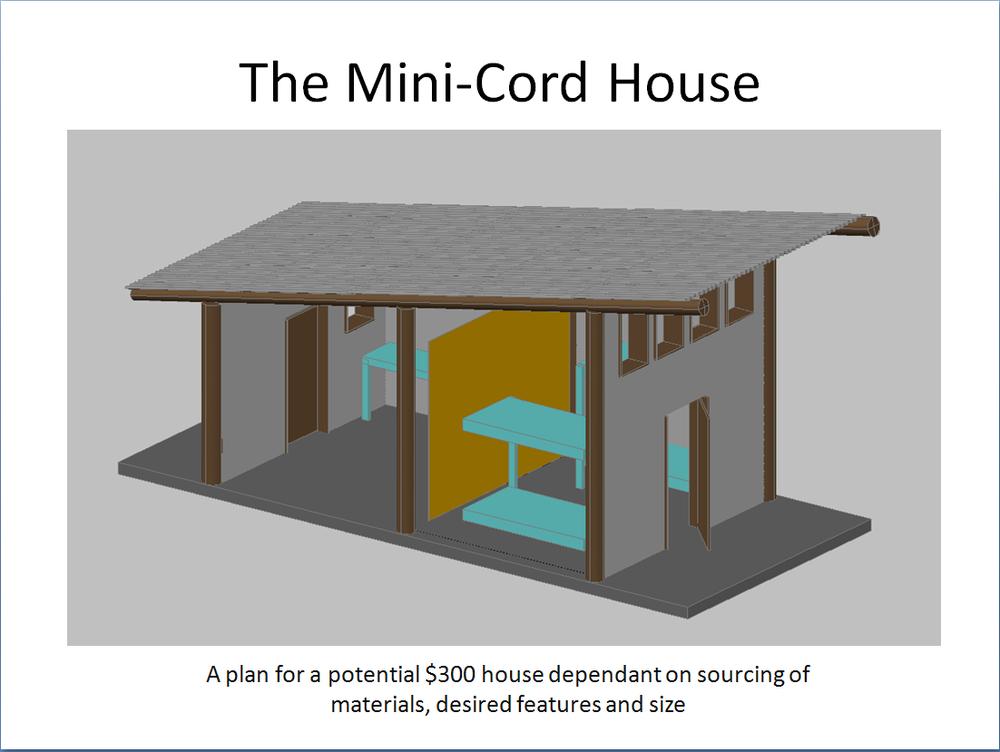 jovoto mini cord house the 300 house challenge 300 house rh jovoto com Cordwood House Construction Cordwood House Interiors