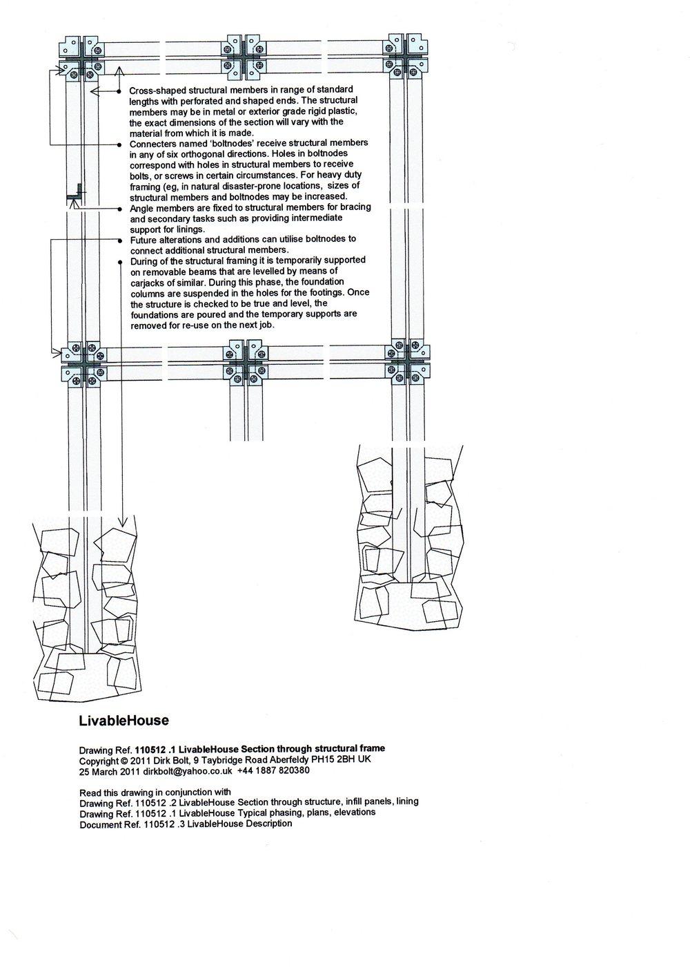 110525 1 livablehouse section through structural frame image 1 bigger