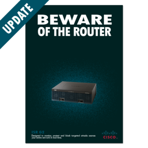 Beware of the router