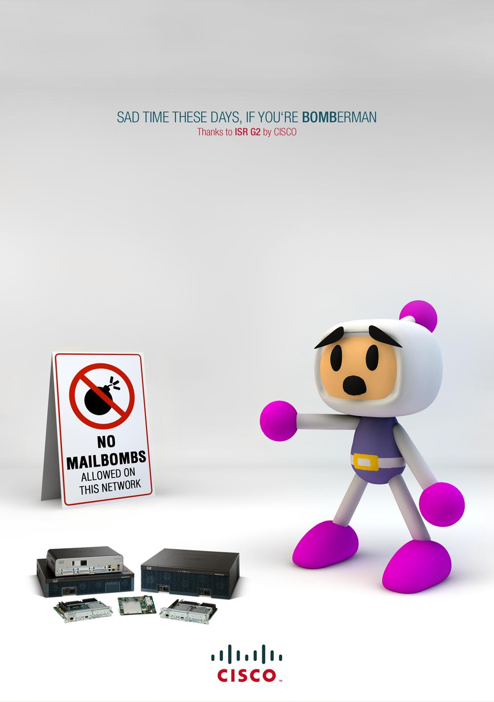 Bomberman bigger