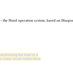 hOS - the hotel universal operation system