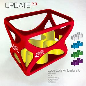 Coca Cola Air Crate