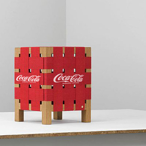 Home Decor Coke Bottle Crate