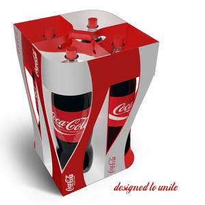 Coca-Cola crate - designed to unite