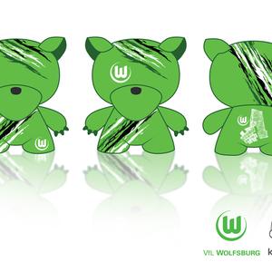 VfL WOLFBURG Kidrobot Munny Series