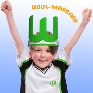 Wolfs- cap - headband