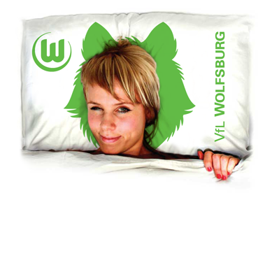 Wolfsburg pillow lining women bigger