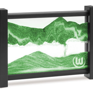 Das VfL Wolfsburg Sandbild