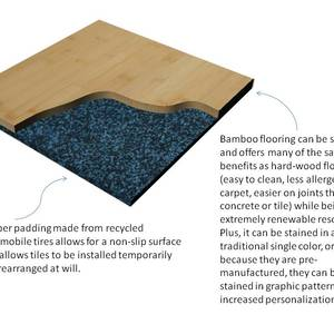 Flooring for transient residents and those inclined to changing minds