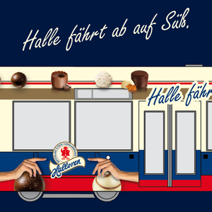 Halle fährt ab auf Süß.