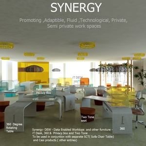 Synergy - iT- DESK and Data enabled furniture co- workspace