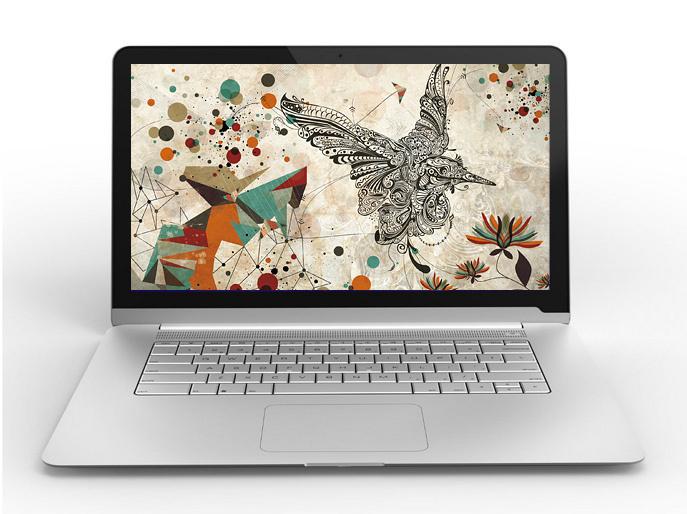 Laptop bigger