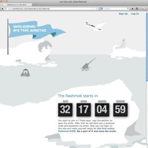 interactive online Flashmob