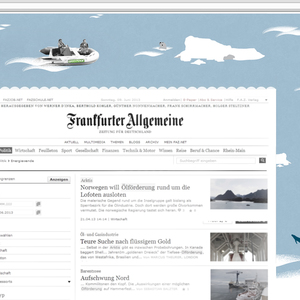 Initiative zur Petition SAVE THE ARCTIC / Bannerkampagne