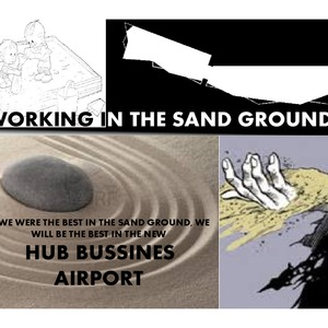 WORKING IN THE SAND GROUND