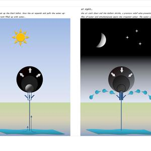 SOLAR BALLOON WATERING