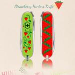Strawberry hunters knife
