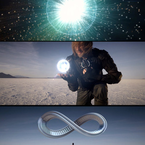 """Visual effects and 3d elements and graphics for music video """"Pale Blue Dot"""""""
