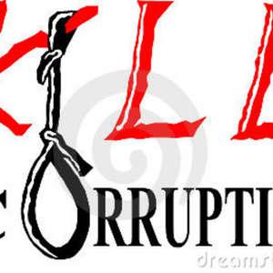 kill corruption