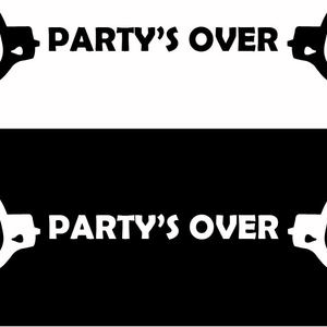 Party's Over Cuffs