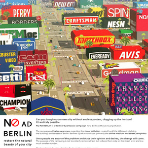 NO AD BERLIN - a campaign to raise awareness