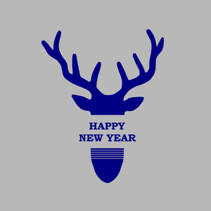 Happy new year, deer!