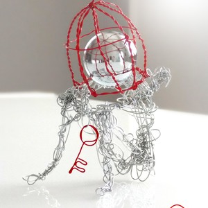 MIND CAGE (sculpture)