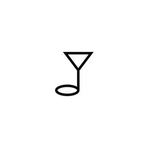 A Little Night Music caffe - logo