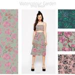 Watercolour Garden