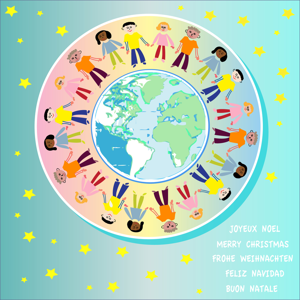 jovoto / ONE WORLD FOR ALL / Giving Greeting Cards / UNICEF Schweiz