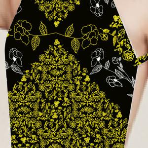 Geometric Floral Lace