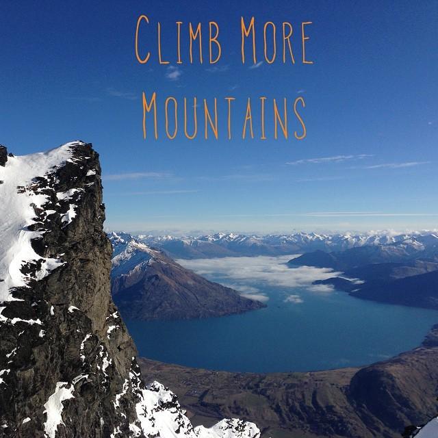 Climb bigger