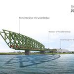 The New Old Bridge of Danube