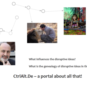 CtrlAlt.de - a site discovering the relationships between disruptive ideas