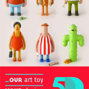 Our Art toy, Your Design.