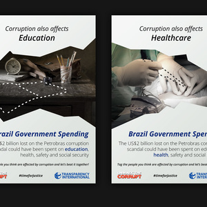 Corruption also affects you - Brazil Government Spending