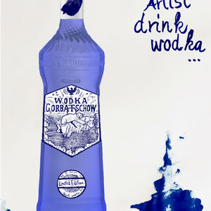 be an artist, drink wodka