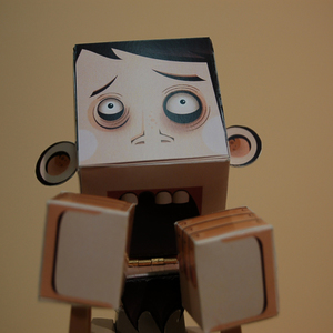 animation / paper character