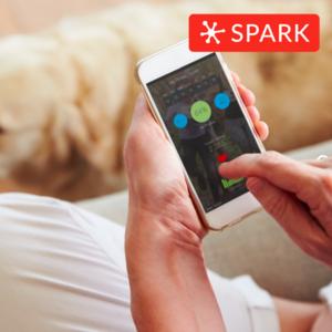 #spark: Smart Bottle & Plates