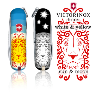 Lions: sun and moon