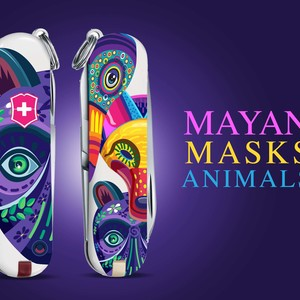 MAYAN MASK ANIMALS