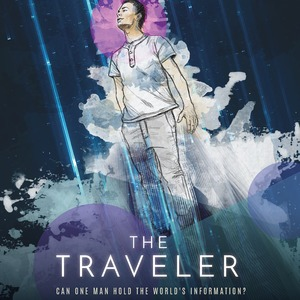 The Traveler - A Story by Jeyla Mendoza, Poster Design by Paola Ramirez